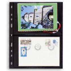 Hojas OPTIMA 2S para sobres y tarjetas postales (10 unds.)