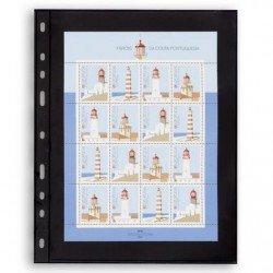 Hojas OPTIMA 1S para sobres y tarjetas postales (10 unds.)