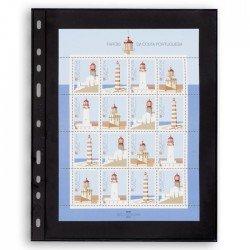 Hojas para Clasificador de sellos Leuchtturm VARIO 1S (5 unds.)