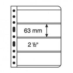 Hojas para Clasificador de sellos Leuchtturm VARIO 4S (5 unds.)