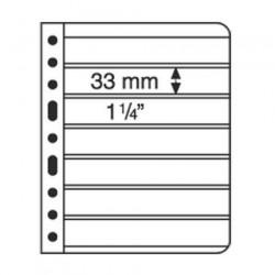 Hojas para Clasificador de sellos Leuchtturm VARIO 6S (5 unds.)