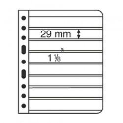 Hojas para Clasificador de sellos Leuchtturm VARIO 7S (5 unds.)