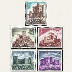 1972 España. Castillos de España. Edif.2093/97 **