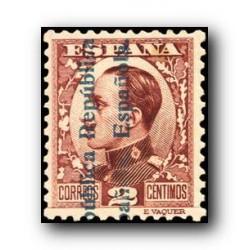 1931 España. Alfonso XIII (Sobrecargados). Edif.595 *