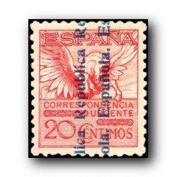 1931 España. Alfonso XIII sobrecargados. (Edifil 603) *