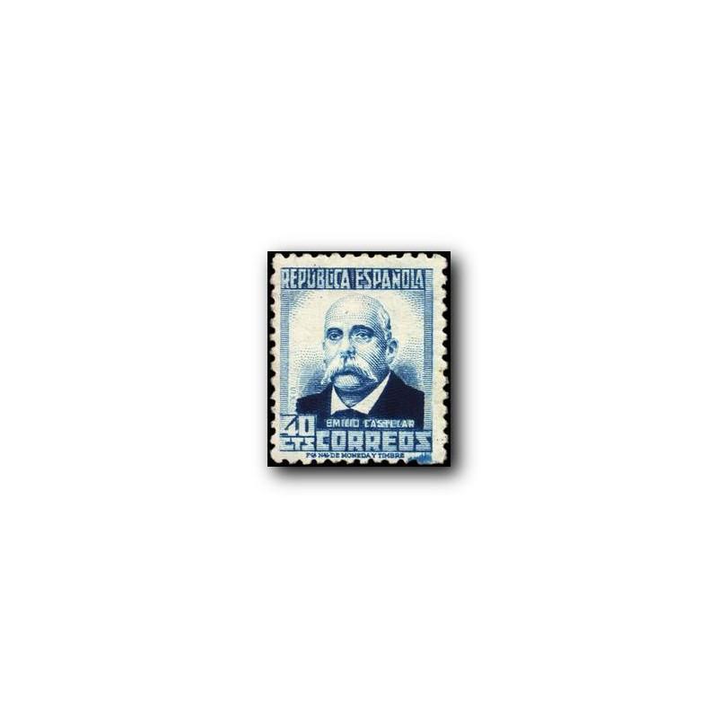 1931-32 España. Personajes. Edif.660 **