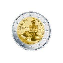 Moneda 2 euros conmemorativa. España 2014 Gaudí