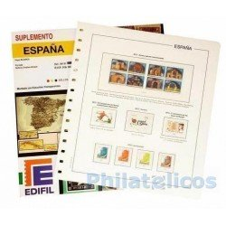 Suplemento Anual Edifil España 2014 sólo Sellos y Hojas Bloque