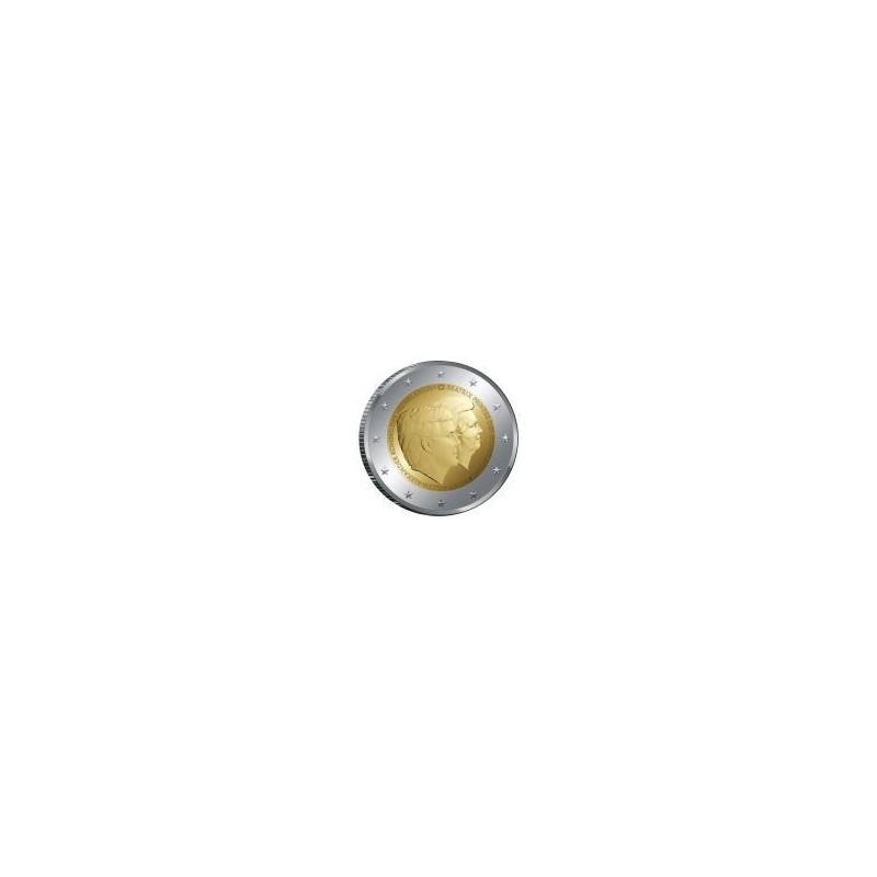 Moneda 2 euros conmemorativa. Holanda 2014