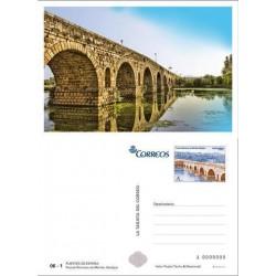 2013 España. La Tarjeta del Correo - Puente de Mérida **