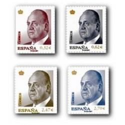2009 Sellos de España. S.M. D.Juan Carlos I. (Edif. 4457/60)**