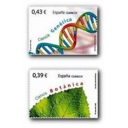 2009 Sellos de España. Ciencia. (Edif. 4455/56)**