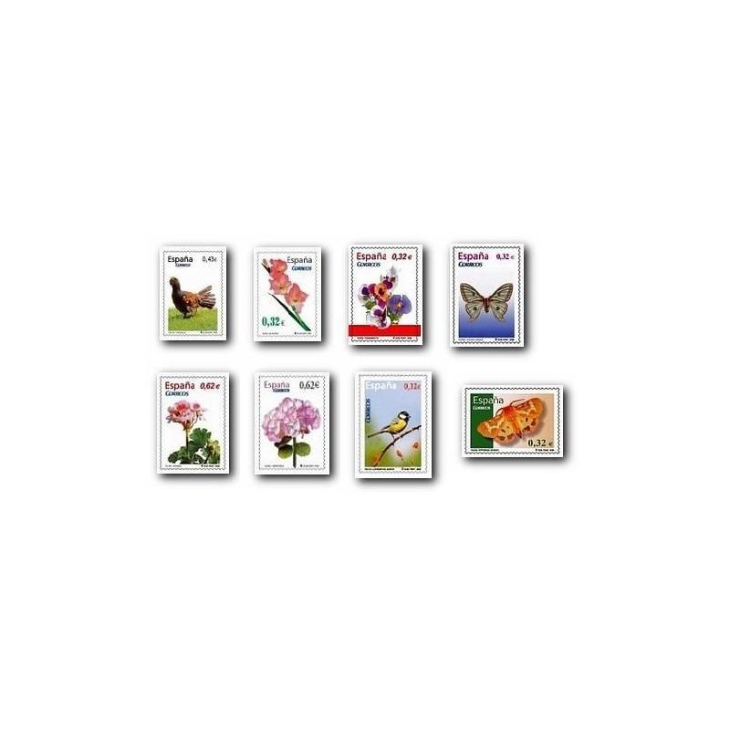 2009 Sellos de España. Flora y Fauna. (Edif. 44562/69)**