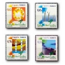 2009 Sellos de España. Energías Renovables. (Edif. 4475/78)**