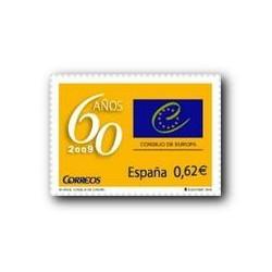 2009 Sellos de España. Consejo de Europa. (Edif. 4482)**