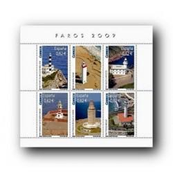 2009 Sellos de España. Faros. (Edif. 4483)**