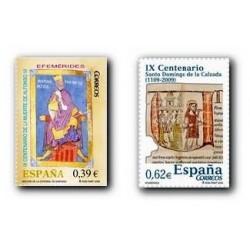 2009 Sellos de España. Efemérides. (Edif. 4487/88)**