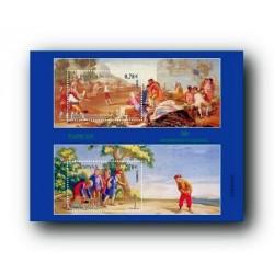 2009 Sellos de España. Patrimonio Nacional. Tapices. (Edif. 4495)**