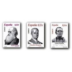 2009 Sellos de España. Personajes. (Edif. 4498/00)**