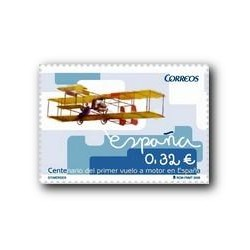 2009 Sellos de España. Primer Vuelo a Motor en España. (Edif. 4503)**