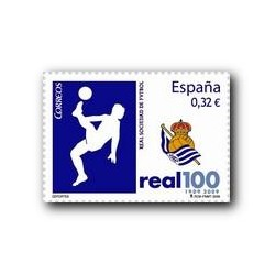 2009 Sellos de España. Real Sociedad de Fútbol. (Edif. 4504)**