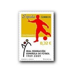 2009 Sellos de España. Real Federación Española de Fútbol. (Edif. 4514)**