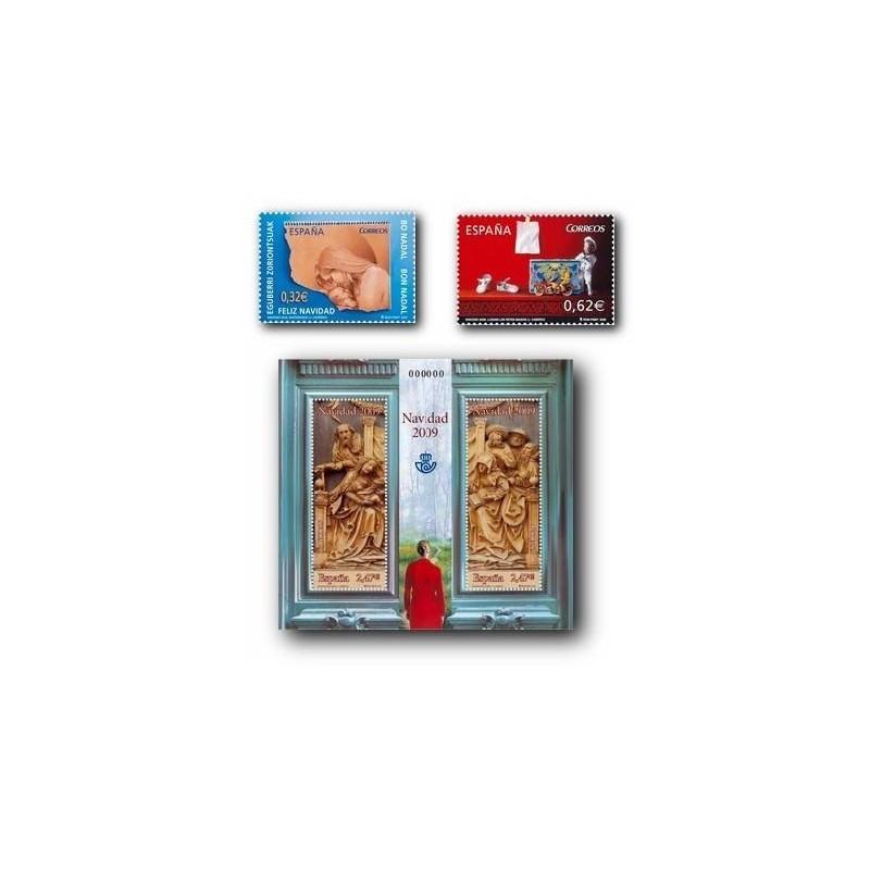 2009 Sellos de España. Navidad. (Edif. 4520/22)**