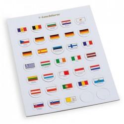Fichas de bandera de cartón para caps 26