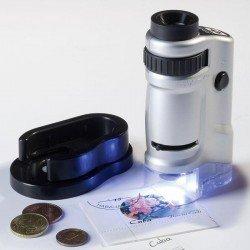 Microscopio Zoom con Led 20-40x