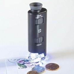 Microscopio con Zoom con Led 60–100x