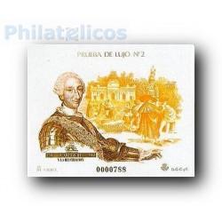 1988 Prueba Oficial 17. Carlos III y La Ilustración. (Edifil 17)