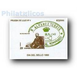 1990 Prueba Oficial 20. Día del Sello (Edifil 20)