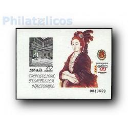 1990 Prueba Oficial. Exposición Filatélica Nacional EXFILNA´90