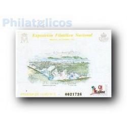 1991 Prueba Lujo 5. Exposición Filatélica Nacional EXFILNA´91