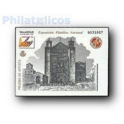 1992 Prueba Oficial 27. Exposición Filatélica Nacional EXFILNA´92