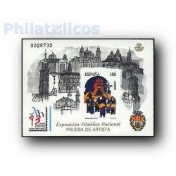 1993 Prueba Oficial 29. Exposición Filatélica Nacional EXFILNA´93
