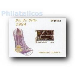 1994 Prueba Lujo 8. Día del Sello. Buzones