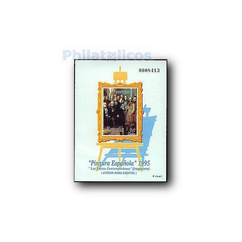 1995 Prueba Oficial. Pintura Española. Antonio María Esquivel