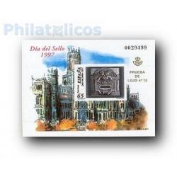 1997 Prueba Oficial 62. Día del sello. Buzones