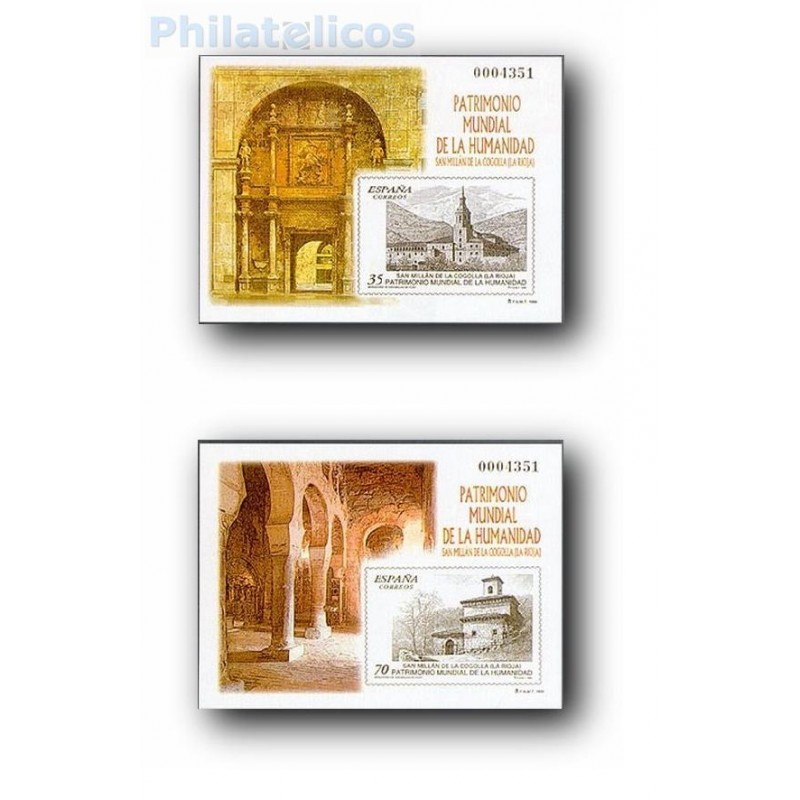 1999 Prueba Oficial. Patrimonio Mundial de la Humanidad. San Mil