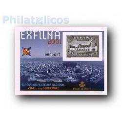 2001 Prueba del Artista. EXFILNA'2001 - Vigo
