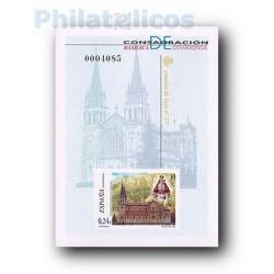 2001 Prueba Oficial 74. Consagración de la Basílica de Covadonga