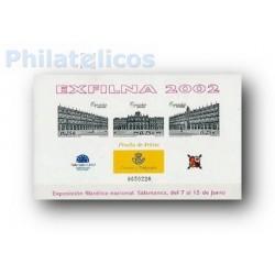 2002 Prueba Oficial 78. EXFILNA'02 Salamanca