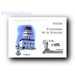2003 Prueba de Lujo nº 20. Centenrio de la Aviación.