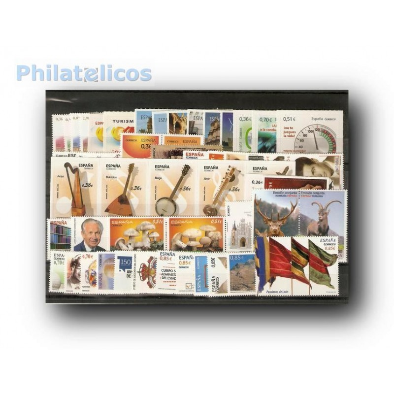 Sellos de España 2012 Año Completo **