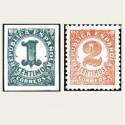 1933 Cifras. Edif.677/78 **