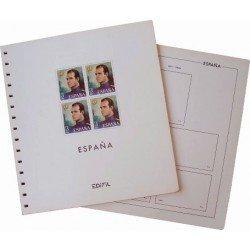 Juego de Hojas Edifil España 2002/2005 B4
