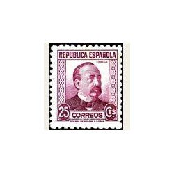 1933-35 España. Personajes. Edif.685 **