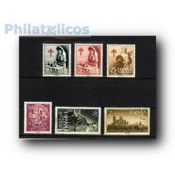 Sellos de España 1953 año semicompleto