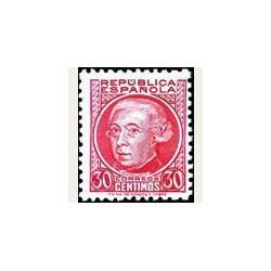 1933-35 España. Personajes. Edif.687 **